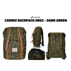 Carino Backpack - HR02 - DARK GREEN