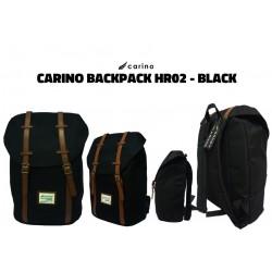 Carino Backpack - HR02 - BLACK