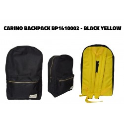 Carino Backpack - BP1410002 Black Yellow