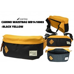 Carino Waist Bag - WB1410003 Black Yellow