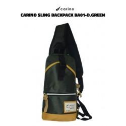 Carino Sling Backpack -BA01 - DARK GREEN