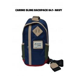 Carino Sling Backpack - 047 - NAVY