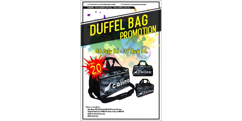Duffel Bag Promotion